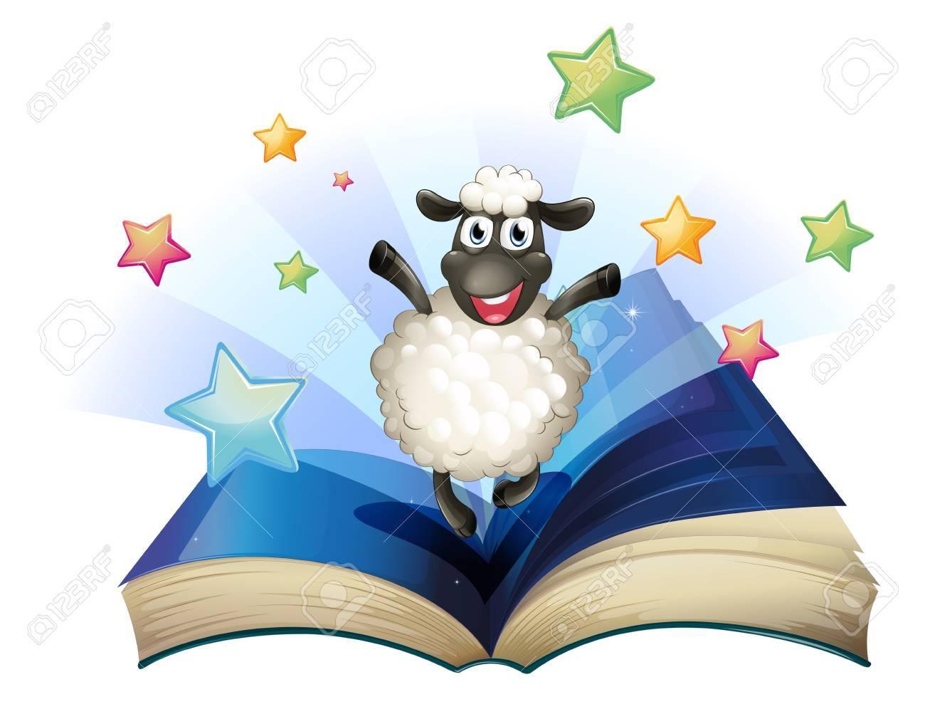 oveja estudiando