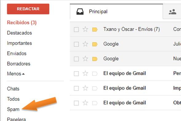 bandeja-spam
